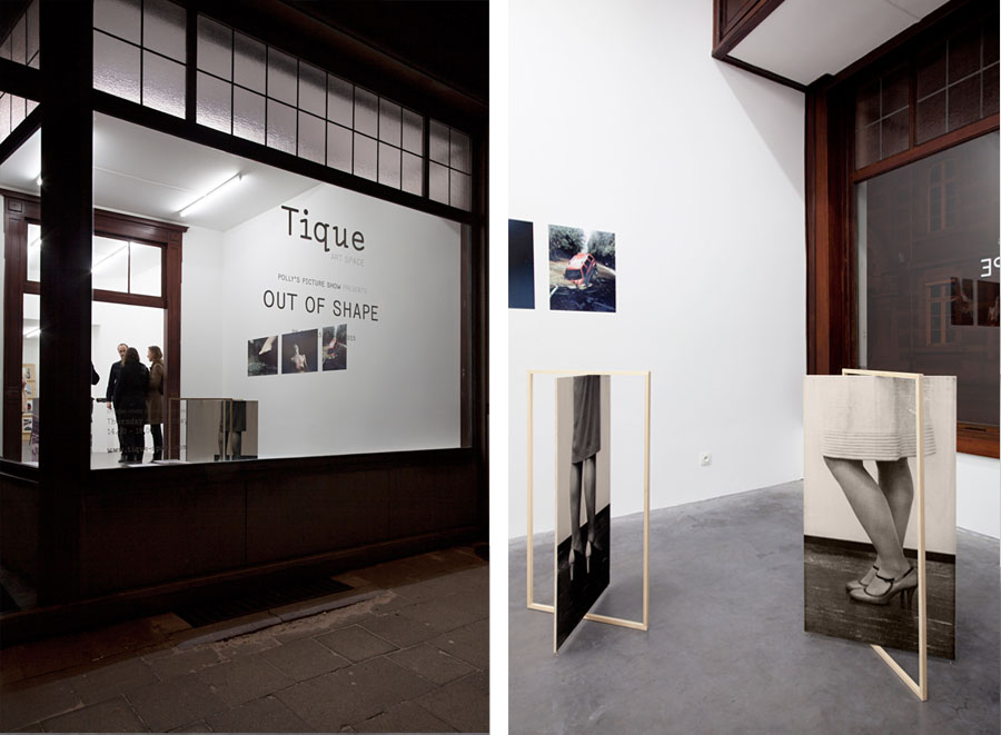 documentation of Tique exhibition
